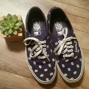 VANS San Diego Padres MLB Canvas SHOES EUR 42